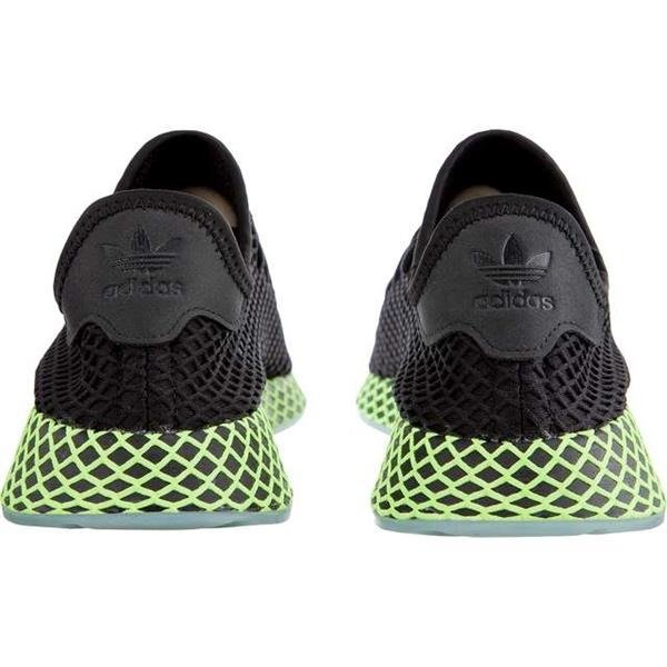 25fed357015dd ... Men s Shoes Sneakers Adidas DEERUPT RUNNER CORE BLACK CORE BLACK ASH  BLUE Click to zoom