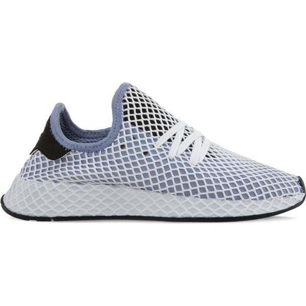 191b059e754f5 Women s Shoes Sneakers adidas DEERUPT RUNNER W CHALK BLUE CHALK BLUE CORE  BLACK - KicksDistrict.co.uk