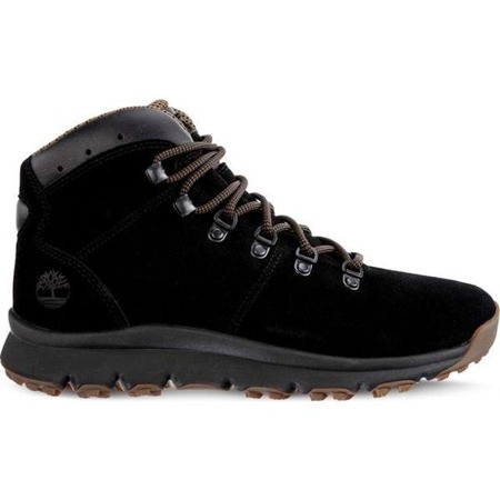 Men's Winter Boots Timberland WORLD HIKER MID JET BLACK