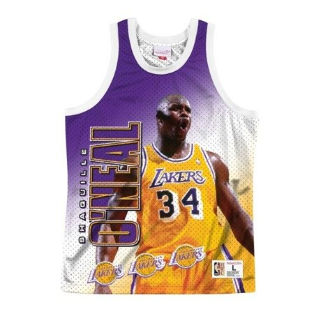 Mitchell & Ness NBA Behind The Back Tank Los Angeles Lakers - Shaquille Oneal