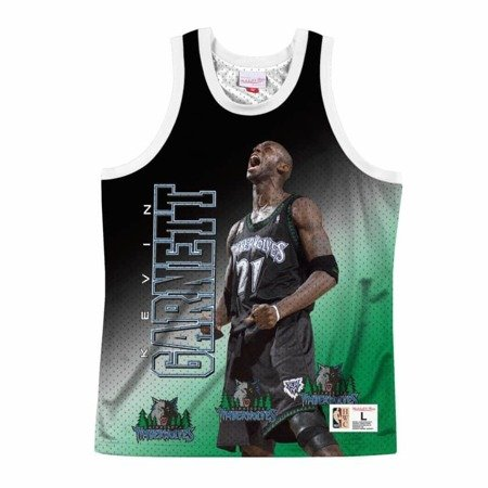 Mitchell & Ness NBA Behind The Back Tank Minnesota Timberwolves - Kevin Garnett