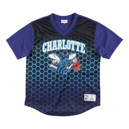 Mitchell & Ness NBA Charlotte Hornets Game Winning Shot T-Shirt