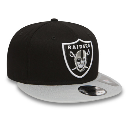 New Era 9FIFTY Cotton Block Oakland Raiders Snapback - 10879529