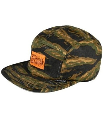 Official - Tigers Tripe Workwear Camper Strapback