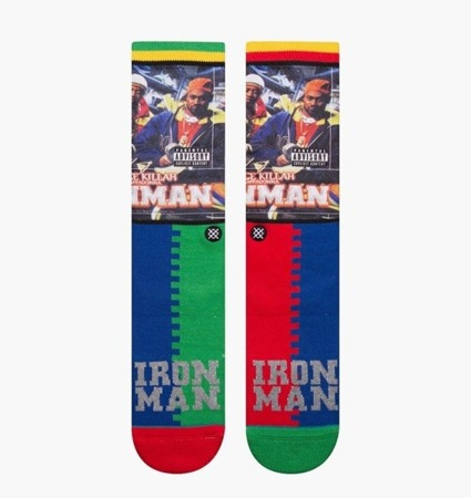 Stance Anthem Ghostface Killah Socks - M558D18GHO