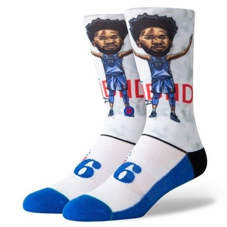 Stance NBA Joel Embiid Big Head Socks - M548A19EMB