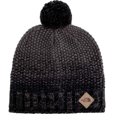 The North Face ANTLERS BEANIE TNF BLACK GRAPHITE GREY
