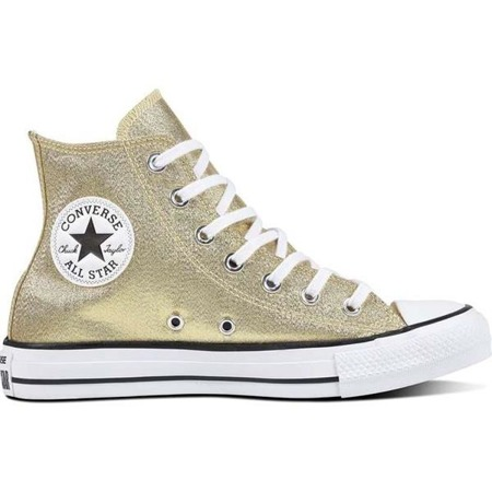 Women's Shoes Sneakers Converse C561708 CHUCK TAYLOR ALL STAR LIGHT TWINE WHITE BLACK