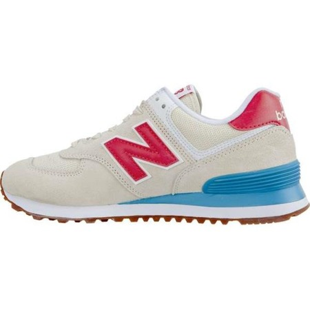 Women's Shoes Sneakers New Balance WL574FLA SUMMER DUSK ALABASTER WITH POMELO