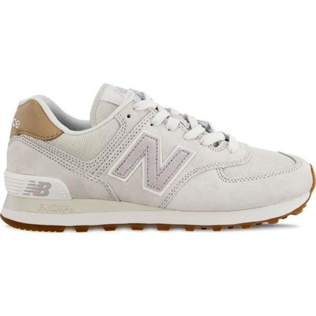 Women's Shoes Sneakers New Balance WL574LCC LIGHT CLIFF GREY WITH LIGHT CASHMERE