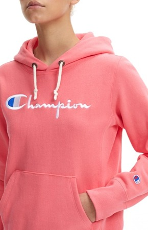 Champion Reverse Weave Hooded Sweatshirt Pink 111555/PS106