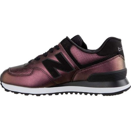 Damenschuhe Sneaker New Balance WL574KSB SHEEN PACK BLACK