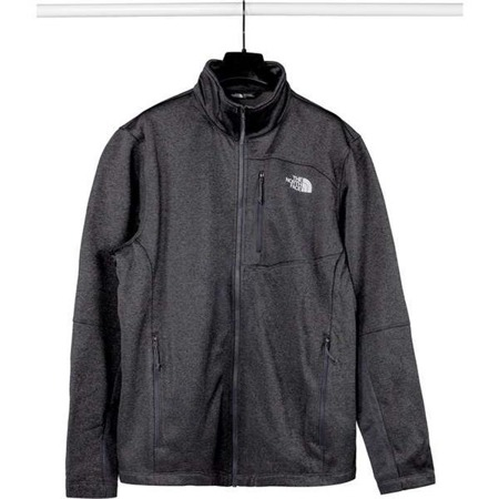Herrenjacke The North Face M CANYONLANDS SOFT SHELL JKT TNF DARK GREY HEATHER