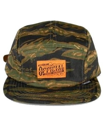 Official Tigers Tripe Workwear Camper Strapback
