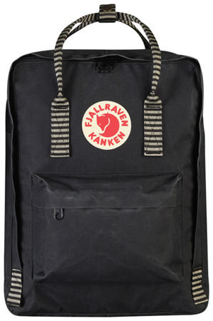Rucksack Kanken Fjallraven Black Striped 550-901