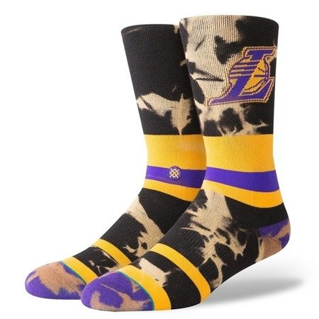 Stance NBA LA Lakers Acid Wash Socken - M558C18SPU