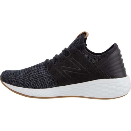 New Balance FRESH FOAM CRUZ V2 KNIT WCRUZKB2 BLACK WITH MAGNET - Buty Damskie Sneakersy