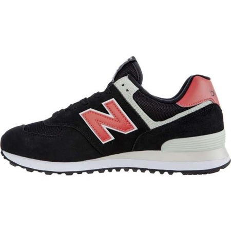 New Balance ML574SMP BLACK WITH POMELO - Buty Męskie Sneakersy
