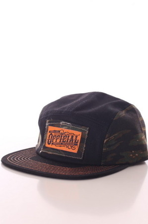 Official - Black Tiger Camo  5Panel