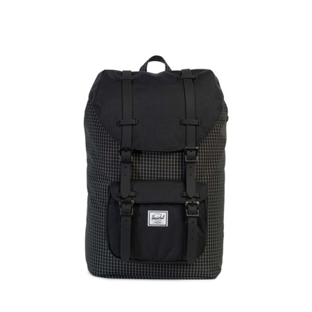 Plecak Herschel Little America Mid-Volume Black Grid [10020-01579]