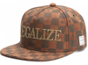 C&S GL Legalize It Cap brown/gold - Snapback
